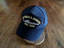 Uss Lyndon B Johnson Ddg-1002 Navy Ship Hat U.S Military Official Ball Cap U.S.A