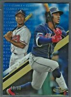 Ozzie Albies 2019 Topps Gold Label Class 3 BLUE Parallel /50 #5 Braves