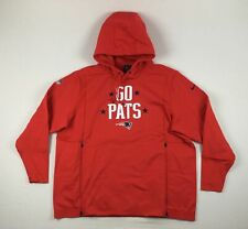 NEW Nike New England Patriots - Men's Red Sweatshirt (2XL)