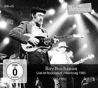 ROY BUCHANAN - LIVE AT ROCKPALAST   CD+DVD NEU