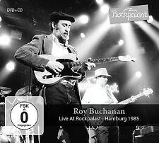 ROY BUCHANAN - LIVE AT ROCKPALAST   CD+DVD NEU