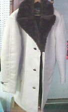 Vintage Men's Men Man Business winter coat jacket Cal Craft faux lined button up