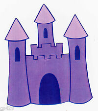 "4"" DORA PRINCESS CASTLE  ONCE UPON  A TIME  PREPASTED WALLPAPER BORDER CUT OUT"