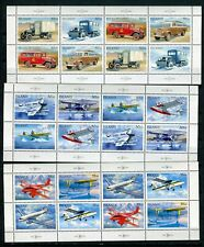 Iceland GREAT Lot Mail Vehicles Sheets MNH - FREE SHIPPING