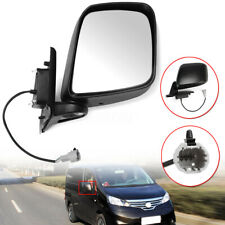 For Nissan NV200 2010-2016 Right Driver Side Electric Wing Mirror Black