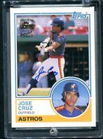 2003 Topps Archives #FFA-JCR Jose Cruz Autograph Auto Houston Astros