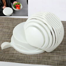 Salad Maker Cutter Bowl 60 Second Salads Made Easy Make Salad Tool Slicer