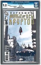 Superman: World of New Krypton  #1 CGC 9.8 (5/09) DC variant white pages