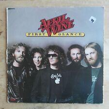 April Wine First Glance 1978 Vinyl LP Capitol Records SW-11852