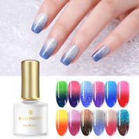 BORN PRETTY Thermal UV Gel Polish Soak Off Sequins Color Changing Nail Art Gel