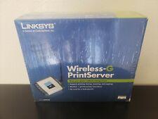 Linksys Wireless G Print Server(WPSM54G)