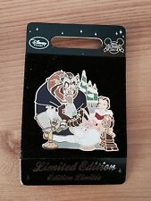 disney store limited edition beauty & the beast 2014 pin trading