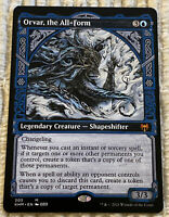TRACKING Orvar, the All-Form Showcase Magic the Gathering Kaldheim mtg CARD NEW