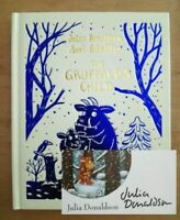SIGNED 1ST MINIATURE EDITION of THE GRUFFALO'S CHILD. JULIA DONALDSON. FIRST