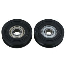 2pcs 40MM Universal Bearing Steel Pulley Wheel for Furniture Hardware Accessory