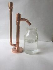 """Proofing Parrot Pure Copper for Moonshine e85 Distilling Alcohol DIY Kit 3/4""""x11"""