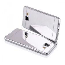 "Coque Housse Bumper "" Effet Miroir "" Samsung Galaxy S 7 Edge - Argent"