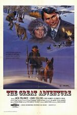 THE GREAT ADVENTURE Movie POSTER 27x40 Jack Palance Joan Collins Fred Romer