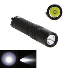 1000LM R5 LED Mini Pocket Keychain Flashlight Torch Light Handy EDC AAA