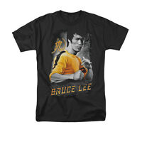 BRUCE LEE YELLOW DRAGON Licensed Adult Men's Graphic Tee Shirt SM-5XL
