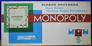 Monopoly Board Game (1961 Edition) Parts & Pieces Only - You Choose