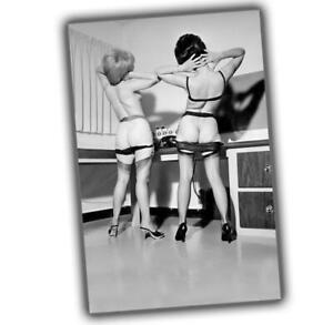 """Photo Vintage Pin-up Classic Retro Girls Glossy Size """"4 x 6"""" P"""
