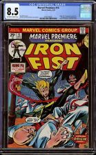 Marvel Premiere # 15 CGC 8.5 OW/White (Marvel, 1974) 1st appearance of Iron Fist