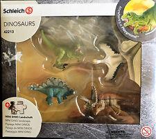 NIP Schleich  Mini Dinosaur Set with Puzzle