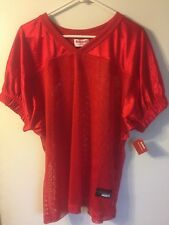 Riddell Football Jersey - Men's L/Xl - Red - New