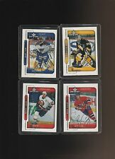 1999-00 Upper Deck MVP Silver Script Fuhr Aubin Linden Savage Lot of 4