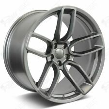 """20"""" Flow Forged Hellcat Style Gunmetal Wheels Fits Dodge Charger Challenger"""