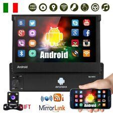 7 '' Autoradio Android 8.1 1Din GPS Navi Wifi Bluetooth Touch Screen MP5 +Camera