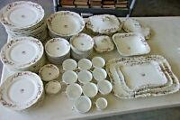 Antique HAVILAND Dinnerware Pour TM James & Sons Kansas City MO - 88 pcs SALE!