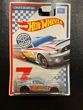 Hot Wheels Racing Circuit Series '15 Shelby Gt-500 Super Snake,Silver, 7/10, NEW