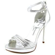 Sandalias y chanclas de mujer Laundry de tacón alto (más que 7,5 cm) de color principal plata