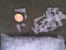 40 neu teeny tiny, plastik pcr tubes mit klappbarem deckel klein
