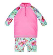 Monsoon Cosima Sunsafe Surfsuit Baby Girls 6 - 12 Months Bnwt UV Protective