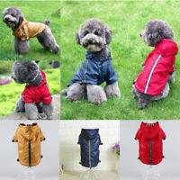 1x Hunde Regenmantel, Wetter Schutz Accessoire für Haustier Hunde Katzen Welpen