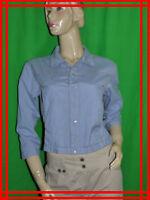 LE JEAN DE MARITHE FRANçOIS GIRBAUD T 36 Superbe veste courte boléro bleu coton
