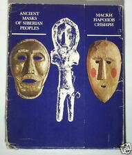 BOOK Ancient Masks of Siberia ethnic shaman ritual costume Russian cult folk art