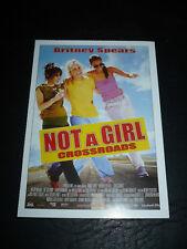 CROSSROADS, film card [Britney Spears, Zoe Saldana, Anson Mount, Taryn Manning]