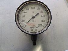 Helicoid  2000PSI 2306 Pressure Gauge 430L P/N HD-485  #1827