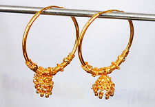fashion fine jewelry Earring h28 Gold plated hoop earrings indian