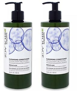 Matrix Biolage Cleansing Conditioner for Medium Hair,16.9oz (Pack of 2) New