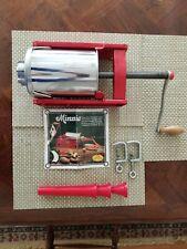 Tre Spade 3 kg/6 lb Italy made Commercial Manual Horizontal Sausage Stuffer Euc