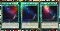 YGO- 3x Joyous Melffys Super Rare -1st PHRA-EN044 NM