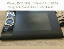 Wacom Intuos4 Medium PTK-640 Graphic Drawing Tablet USB cable also included