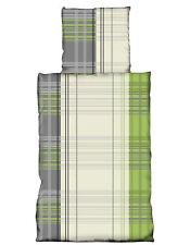 4 tlg Flausch Bettwäsche 135 x 200 cm Microfaser Thermofleece 2 Garnituren MT5