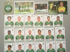 panini foot 2013/2014  equipe ST ETIENNE COMPLETE
