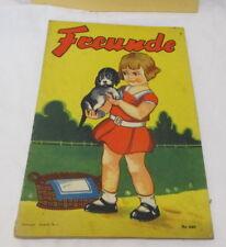 um 1920 FREUNDE - illustr. Kinderbuch NEURUPPIN Hersteller Nr. 1 - Nr. 446